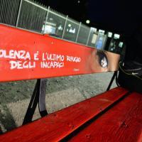 panchina rossa contro il femminicidio