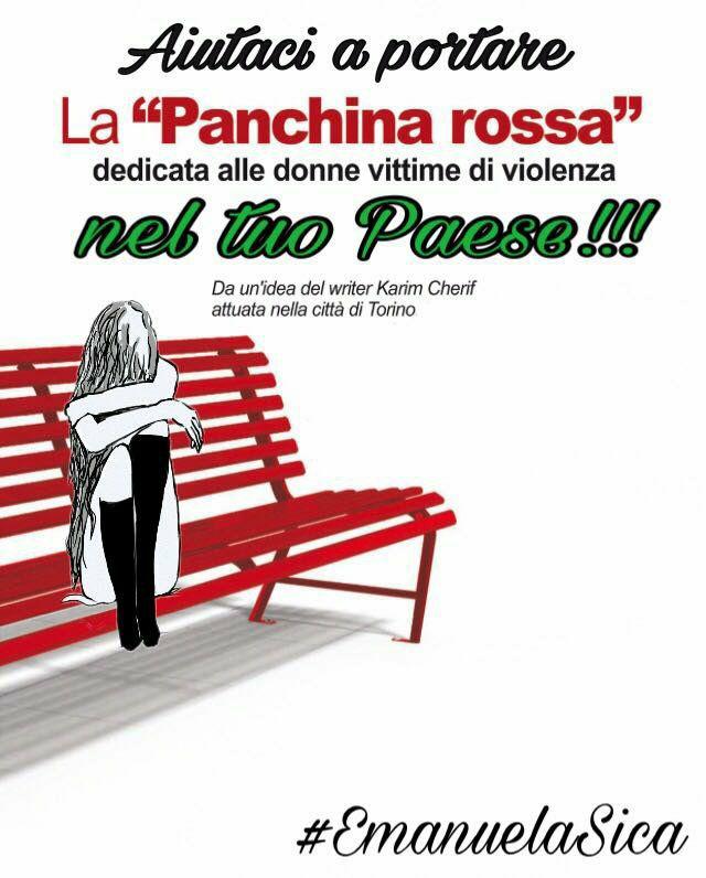 la Panchina rossa Emanuela Sica