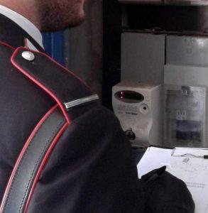 Furto di energia elettrica a Lioni: commerciante arrestato dai Carabinieri