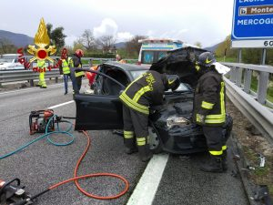Incidente stradale A16