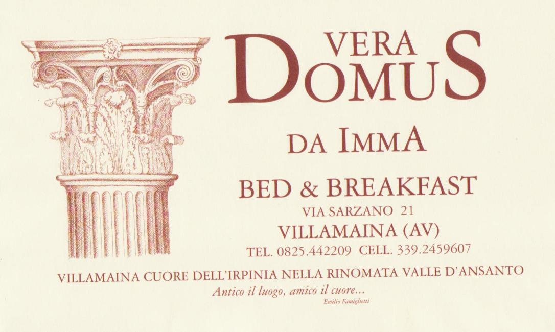 Vera Domus Bed & Breakfast Villamaina